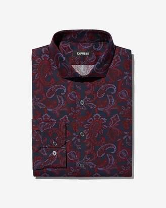 Express Slim Paisley Dress Shirt