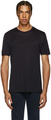Burberry Navy Smithurst T-Shirt $195 thestylecure.com