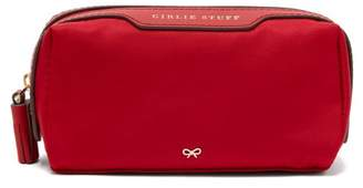 Anya Hindmarch Girlie Stuff Nylon Pouch - Womens - Red