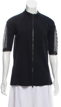 Marni Short Sleeve Zip-Up Jacket