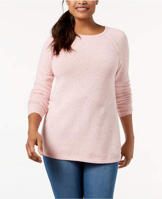 Karen Scott Crew-Neck Sweater