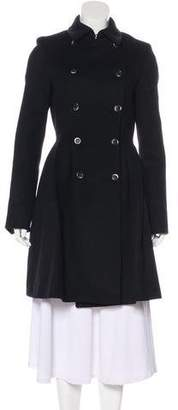 Thakoon Angora-Blend Double-Breasted Coat