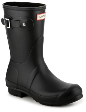 Hunter Short Matte Rain Boot