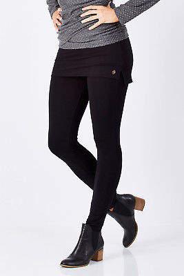 Hatley NEW Womens Leggings Skirted Legging Black