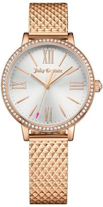 Juicy Couture Rose Gold Socialite Watch