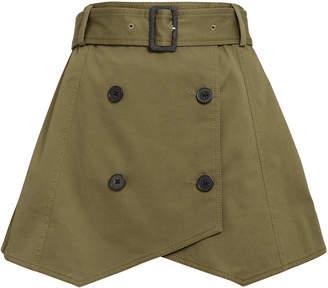 Derek Lam 10 Crosby Army Trench Skirt