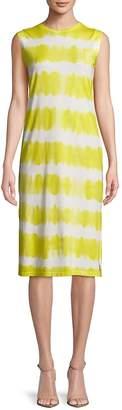 C&C California Women's Tie Dyed Knee-Length Dress