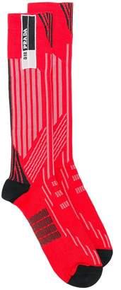 Prada striped socks
