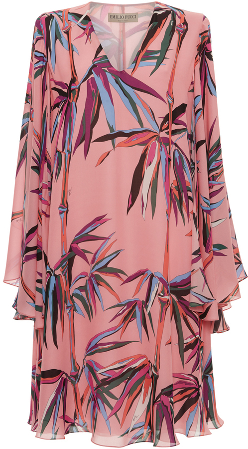 Emilio Pucci Ruffled Mini Dress