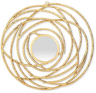"One Kings Lane Cormac 31"" Wall Mirror - Antiqued Gold"