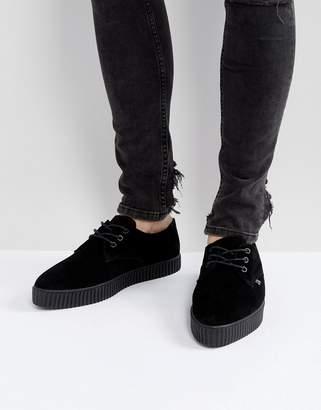T.U.K. Suede Pointed Sneakers