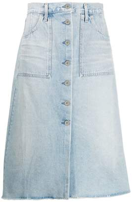 Citizens of Humanity faded skirt