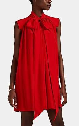Givenchy Women's Silk Crêpe De Chine Swing Minidress - Red