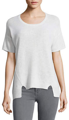 Lord & Taylor Boxy Cashmere Tee