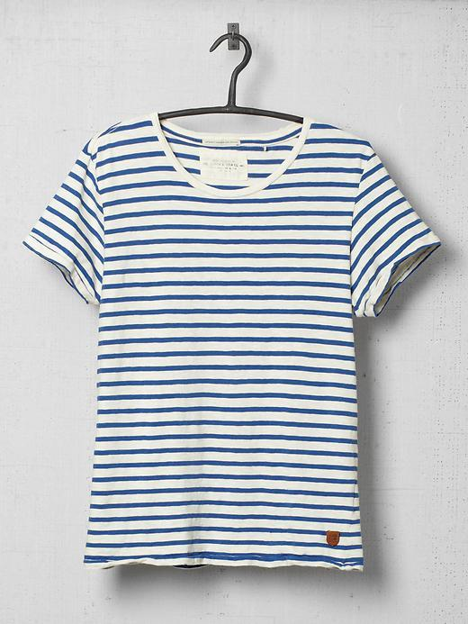 Scotch & Soda Short Sleeve Striped Shirt