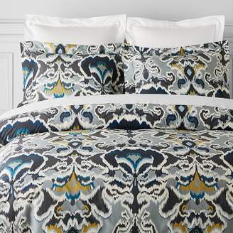 Williams-Sonoma Williams Sonoma Jahari Ikat Printed Organic Bedding