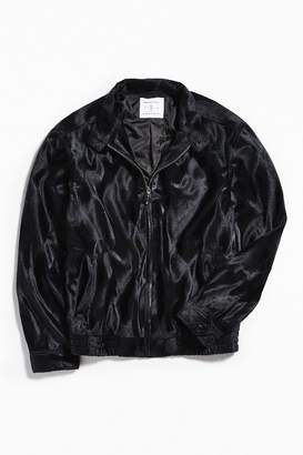 Urban Outfitters Barracuda Micro Faux Fur Jacket