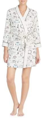 Kate Spade Print Robe