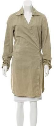 Maison Margiela Longline Wrap Coat