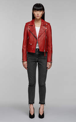 Mackage BAYA classic moto leather jacket