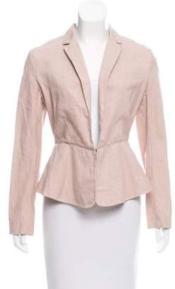 Giada Forte Linen-Blend Jacket w/ Tags