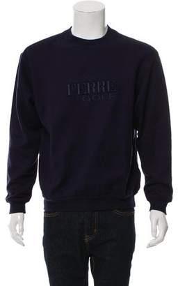Gianfranco Ferre Logo Embroidered Sweatshirt