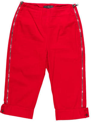 McQ by Alexander McQueen Mid Rise Zippered Capris $70 thestylecure.com