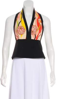 Trina Turk Sleeveless Silk Top