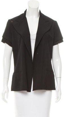 Yohji Yamamoto Wool Peak-Lapel Blazer $95 thestylecure.com