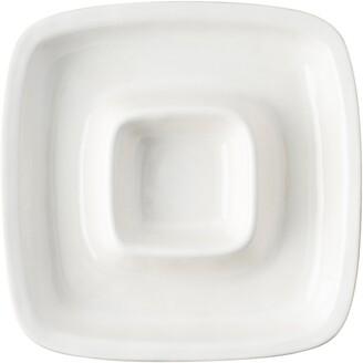 Juliska Puro Whitewash Chip & Dip Serving Bowl
