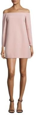 BCBGMAXAZRIA Yesenia Off-The-Shoulder Dress $248 thestylecure.com