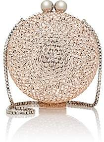 Marzook Women's Crystal Ball Minaudière - Vintage Rose