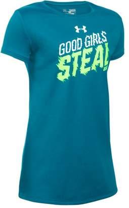 Under Armour Girls' UA Girls Steal Bases T-Shirt
