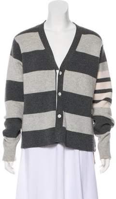 Thom Browne Cashmere Striped Cardigan