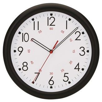 """Victory Light Tempus 10"""" Wall Clock with Minute Minder Face and Quartz Movement"""