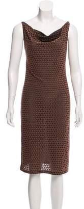 Fendi Logo Patterned Dress