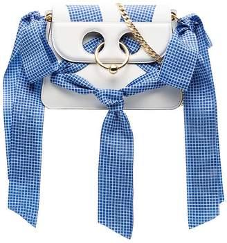 J.W.Anderson White Pierce Ribbon Mini Cross Body Bag