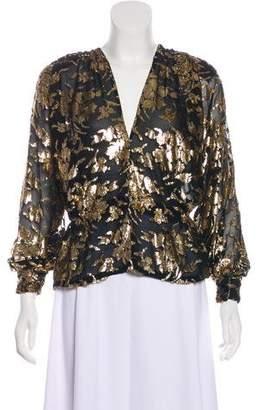 Givenchy Metallic Evening Jacket
