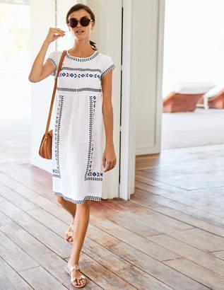 Boden Dora Embroidered Dress