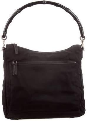 53cf1015393bad Gucci Black Bamboo Handle Handbags - ShopStyle