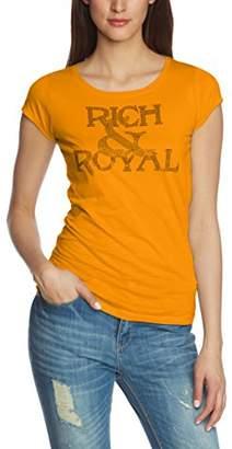 a37d188dbd7b ... Rich   Royal rich royal Women s G Shirt Slim Fit Crew Neck Short Sleeve  T - Shirt