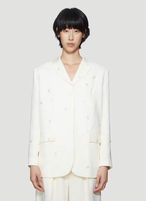 Jacquemus La Veste Moyo in White