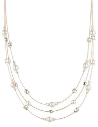 Anne Klein Women's Gold Tone Illusion Necklace