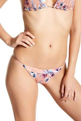 Tori Praver Lacie Smocked Printed Bikini Bottom