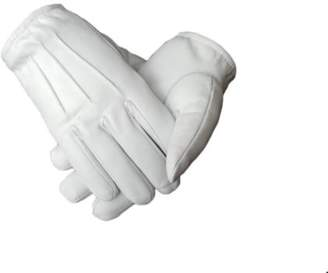 HT Men's Genuine Leather Police Search Gloves Unlined - Free Returns