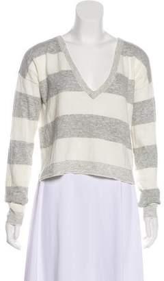 Alice + Olivia Striped Knit Top w/ Tags