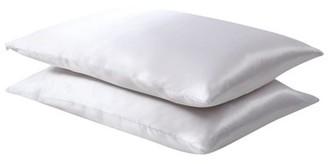 Fresh IdeasTM Fresh Ideas Luxuriously Smooth Satin Pillow Protector
