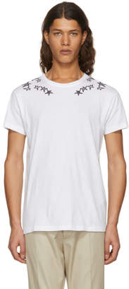Valentino White Punk Star T-Shirt