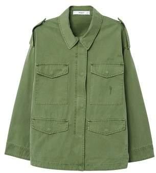 MANGO Pocketed jacket