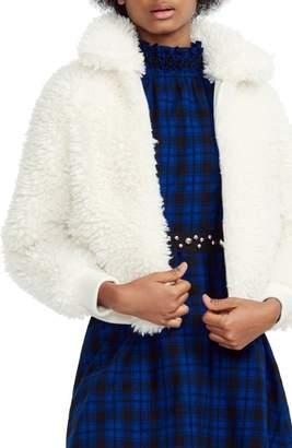 Maje Faux Fur Jacket